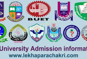 All university Admission 2019-20