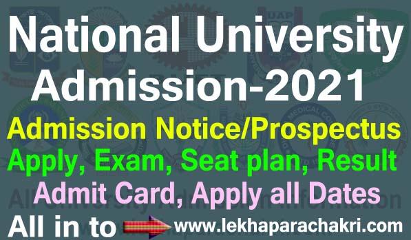 nu admission 2021
